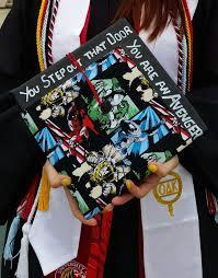graduation cap decorations 20 geeky graduation caps that made honor roll dorkly post