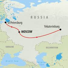 Moscow On Map Russia Tours Holidays To Russia On The Go Tours Au