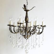 Antique Brass Chandelier Large Vintage French 16 Light Brass Chandelier For Sale At Pamono