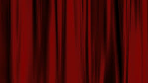 Deep Red Velvet Curtains Red Curtains With Spotlights That Move Back And Forth And Then The