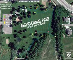 Map Of Provo Utah by Bicentennial Park Professional Disc Golf Association