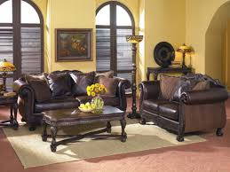 Leather Sofa In Living Room Brown Leather Sofa Paint Furniture Dye Decorating Ideas