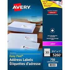 label avery las 2 5 8x1 wht 750 31326 00 05260 fournitures
