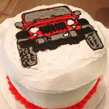 jeep cupcake cake home sweet smorgasbord