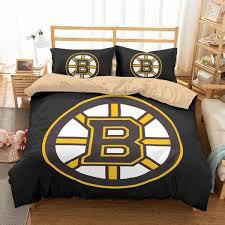 boston bruins bedroom 3d customize boston bruins bedding set duvet cover set bedroom set