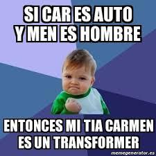 Carmen Salinas Meme Generator - memes carmen transformer memes pics 2018