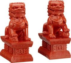 foo dog bookends homegoods fu dog look a likes out loud