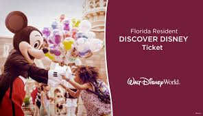 florida resident tickets discover disney world tickets