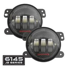 nissan frontier fog light kit jw speaker 6145 j2 series led jeep fog lights