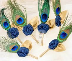 Corsage And Boutonniere For Prom Peacock Feathers Corsages Promotion Shop For Promotional Peacock