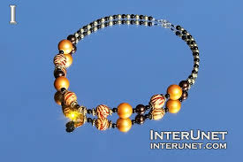 necklace from beads images Necklace tutorial interunet jpg