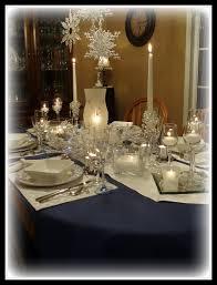 dining delight winter blue u0026 white