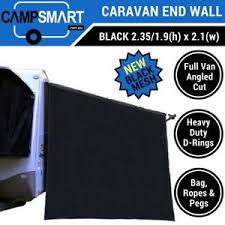 Rv Awning Sunscreen Black Caravan End Wall Privacy Screen Rv Sunscreen Sun Shade For