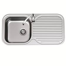 Clark Mm Advance Single End Bowl Sink RH TH Bunnings Warehouse - Bunnings kitchen sinks