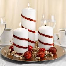 Decoration For Christmas Wedding by Decorative Candle Holders And Wraps Decorative Candles