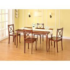 Better Homes And Gardens Dining Room Furniture Better Homes And Gardens Ashwood Road 5 Piece Dining Set Brown