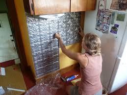 easy backsplash kitchen kitchen glamorous easy to install kitchen backsplash faux metal