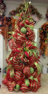 christmas mesh ribbon best 25 mesh christmas tree ideas on deco mesh