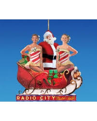 check out these bargains on 4 glittered rockettes with santa in
