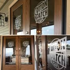 glass door signs custom frosted vinyl logo applied to clear glass door in new york