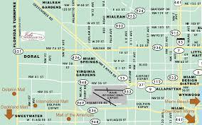 Hialeah Florida Map by Isla Margarita Doral
