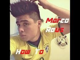 Marco Reus Hairstyle 2014 Marco Reus Hairstyle Variation Tutorial Youtube