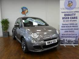 used fiat 500 1 2 s 3dr low tax for sale in scunthorpe