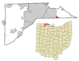 Dayton Ohio Zip Code Map by Curtice Ohio Wikipedia