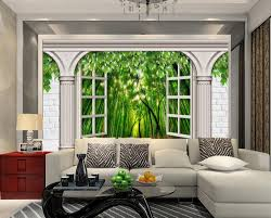3d Wallpaper For Living Room by Online Get Cheap Wallpaper 3d Bamboo Aliexpress Com Alibaba Group