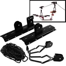 Racor Pbh 1r Ceiling Mounted Bike Lift by Amazon Com Bicycle Lift Bike Ceiling Mount Pulley Hoist Rack