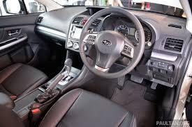 subaru suv interior subaru xv sti performance edition debuts u2013 rm144k image 258044