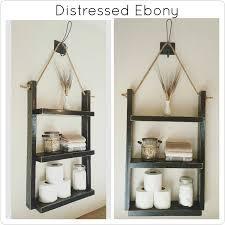 Hanging Bathroom Shelves by Large Bathroom Shelf Book Shelf Hanging Wood Shelf