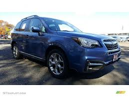 subaru forester touring interior 2017 quartz blue pearl subaru forester 2 5i touring 116805947