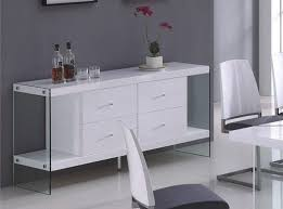 modern high gloss white finish modern dining room buffet north