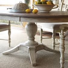 Kincaid Dining Room Milford Round Dining Table Package With Pedestal Base And Splayed