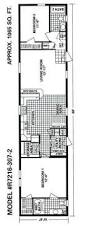 Mobile Home Floor Plans Single Wide Commodore Homes Sensible Three Bedroom Floor Plan Put The Front