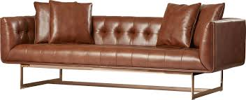 Leather Chesterfield Sofa Sale by Sunpan Modern Matisse Leather Chesterfield Sofa U0026 Reviews Wayfair