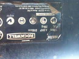 rockwell lawn mower model rg8760 air box outdoorking repair forum