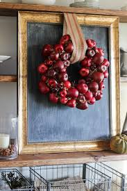 Apple Decor For Home by Diy Apple Wreath The Wood Grain Cottage