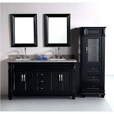 off center sink bathroom vanity 58 inch double sink vanity exclusive inch white marble stone top