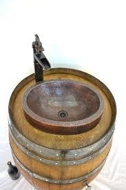 Wine Barrel Vanity 56 Best Wine Barrel Furniture U0026 Fixtures Images On Pinterest