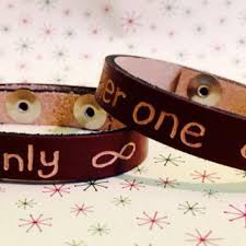 his and hers engraved bracelets shop couples personalized leather bracelets on wanelo