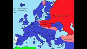 Cold War Map Of Europe by Future Of Europe Part 6 U0027 U0027world War 3 Capitalists Vs Communists