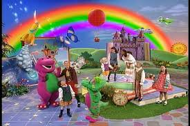 rainbow song barney wiki fandom powered wikia