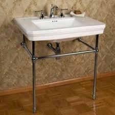 kingston brass console sink kingston brass vpb1368 wall mounted double leg triple hole 8 center
