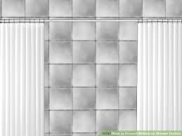 How Much Fabric To Make A Shower Curtain How To Prevent Mildew On Shower Curtain 7 Steps With Pictures