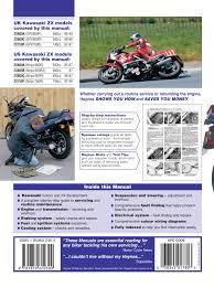 kawasaki zx600 u0026 750 ninjas 85 97 haynes repair manual haynes