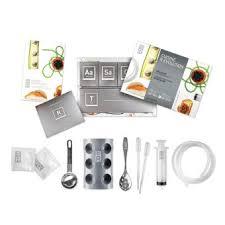 fnac cuisine kit coffret cuisine moléculaire accessoires 50 additifs dvd 50