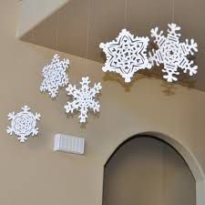 snowflake decorations image posts by paperella