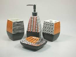 homey design 18 designer bathroom accessories sets home design ideas